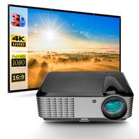 5000 lumen 1080P Home theater Home cinema HDMI TV PC DVD Xbox PS3 PS4 3D HD LED proiettore LCD LCD spedizione gratuita