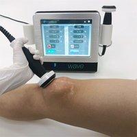 Mini Home Use Ultrassom Shockwave Massagers Mahcine para massageador de corpo inteiro Fisioterapia onda ultra-sônica