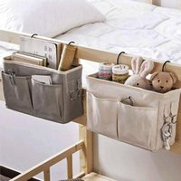 Bedding Sets Portable Baby Care Essentials Hanging Organizers Crib Storage Cradle Organizer Diaper Bag Linen Bed Accessories
