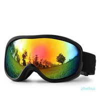 안티 안개 스키 고글 더블 렌즈 UV400 Snowbaord 안경 남성 여성 스키 안경 겨울 스키 유리 Googles 스노우 보드 고글