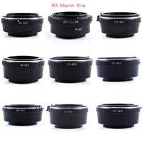 Camera Lens Adapter Ring för EOS AI PK MD FD LR CY OM AR LENS Adapter till för Nex E Mount Camera Pentax1