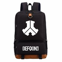 حقيبة الظهر wis defqon.1 روك باند الكتف حقيبة مدرسية حقيبة الكتب للمراهقين صبي فتاة عارضة أكياس محمول