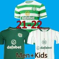 21 22 Keltische FC Fussball Jerseys McGregor Griffiths Top Football Hemden 2021 2022 Klimaala Forrest Brown Christie Edouard Bayo Home Männer Kids Kits Uniformen