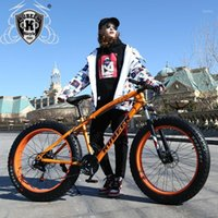 """Bicicletas Kubeen Chegada 7/21/24/27 Acelerações Disco Freios Fatia Fat Bike 26m 26x4.0 """"Pneu Neve Bicycle Oil Spring Fork1"""