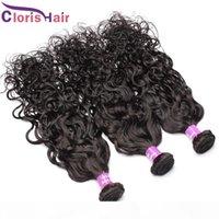 3шт мокрый волнистые перуанские океанские волны человеческие волосы плетение пучки горячей продажи текстура водяной волны ремин волосы наращивание волос утка
