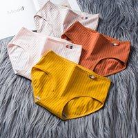 Ropa interior de algodón de las mujeres bragas sin fisuras bragas sexy panty femenina transpirable color sólido calzoncillos de la lencería de las niñas, briefs-xxl