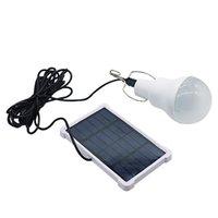 مصباح LED الشمسية DC5V 15W ضوء لمبة ضوء التحكم الشمسية لوحة التخييم في الهواء الطلق مصباح الإضاءة في حالات الطوارئ