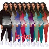 Kadın Eşofman Tasarımcı Mektup Baskılı 2 Iki Parçalı Şort Set Giysi Degrade Kıyafetler Koşu Biker Takım Elbise Kravat Boya Bayanlar Rahat Pantolon Artı Boyutu Giyim