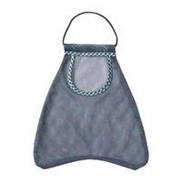 Storage Bags Space Saving Useful Multi-Purpose Food Net Bag Comfortable With Lanyard For Shopping