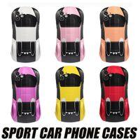 Serin Sevimli Spor Araba Telefon Kılıfı Kılıfları Için iphone 13 12 11 Pro Max XR XS 13mini iPhone7 8 Artı 360 Tam Koruma Kapakları