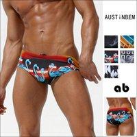 Mayo Austinbem Düz Açılı Üçgen Moda erkek Spor Yüzme Sandıklar