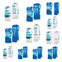 2021 Juegos Olímpicos de Tokio Eslovenia Jerseys de baloncesto Luka Doncic 77 Goran 30 Dragic 10 Mike Tobey 11 Jaka Blazic 8 Edo Murdic 6 Aleksej Nikolic Men Woman Kids Jóvenes Camisa