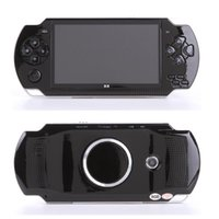 Portable Game Players Arrival Console X6 4.3 Inch Screen Size Handheld Player With 8G Memory Built-in 10000 Games 128 Bit Video