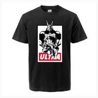 Мужские футболки My Hero Deku T-рубашка Все могут разбить один для коротких рукава TEE академии Япония аниме топы тройники мужские летние Harajuku Streetwear
