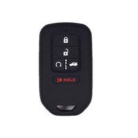 Custodia Smart Key Fob Caso di copertura della pelle Jakcet Shell Protector per Honda Accord Civic CR-V CRV, custodia chiave per auto