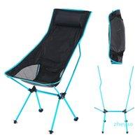Lagermöbel Portable Outdoor Camping Stuhl Ultralight Oxford Tuch Falten Erlanger Sitz für Angeln Picknick BBQ Strand Großhandel