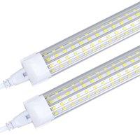 8ft led tüp ışıkları V-şekli 8 ayak tasarım dükkanı led ışıkları fikstür 2ft 3ft 4ft 5ft 6ft soğutucu kapı dondurucu aydınlatma floresan lambalar