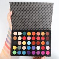 Eye Shadow 40 Colors MaEyeshadow Palette With Brush Professtional Waterproof Long Lasting Women Beauty Cosmetic Makeup Whoelsale TSLM1