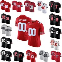 NCAA Ohio State Buckeyes College Football 22 Stelee Chambers 7 C.J. Proud Jersey 2 Chase Young 33 Jack Sawyer 1 Джастин Поля Джакио Мужчины Молодежные изделия