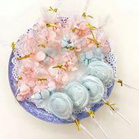 100PCS 포장 가방 투명 DIY 쿠키 사탕 가방 결혼 생일 파티 선물 가방 롤리팝 비스킷 베이킹 포장 가방
