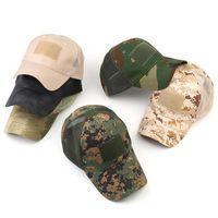 Nuovo esercito tattico dell'esercito dell'esercito della maglia della maglia della protezione del cappuccio della striscia di snapback del cappello del camouflage Semplicità Sport all'aperto