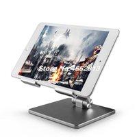 Cep Telefonu Mounts Sahipleri Tablet PC Standı Alüminyum Alaşım Katlanır Ayarlanabilir iPad Bilgisayar Tembel Masaüstü Toptan