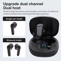 XT18 Bluetooth 5.0 Earphones wireless headphone stereo headphone sports earbud type microphone for iphone 12 13