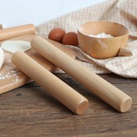 Rolling Pins & Pastry Boards Solid Wood Pin, Big Dumpling Wrapper, Household Small Stick Noodle Stick, Dry Pancake Baking