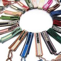 Charme Armbänder Super süße handgemachte gewebtes Quaste Stickerei geflochtene Geschenke Weinlese Freundschaft Armband für Frauen Nm3o