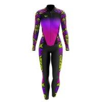 Vezzo Costume à manches longues printemps et automne costume cycliste pour femmes Ciclismo PTO Groupe Body Cyclisme