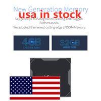 ABD'den Gemi Android 9.0 TV Kutusu X96 Max Artı Amlogice S905x3 4 GB 64 GB 8 K 1000 M Media Player 2.4G5G Çift WiFi Set Topbox