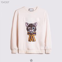 Alta Qualidade Designer Hoodie Mens Cat Skate Sweatshirts Manga Longa Camisas Hoodies Mulheres Moda Roupas Bordado Impresso Carta Star Sweater Casual S-2XL