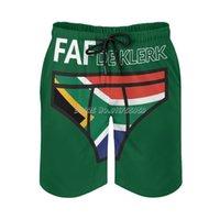 Faf De Klerk-2019 Springbok Print Swim Beach Board Shorts Swimsuit Loose Men's Trunks Breathable Rugby Springbok 219 Rwc S Bokke