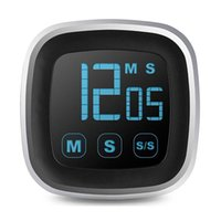 Digital Timer Touch Screen LED Electronic Timer Kitchen Coun...