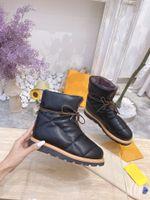 Moda Kadın Çizmeler Yastık Konfor Bayan Deri Ayakkabı En Kaliteli Ayak Bileği Boot Kış Yürüyüş Iş Açık Boy 35-41 Ile Kutusu 014