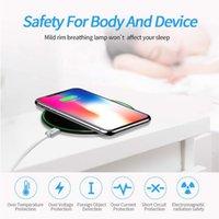 15W Fast Qi Bezprzewodowa ładowarka Ładowarka Dock Pad ładowarki telefonu komórkowego dla iPhone Huawei Xiaomi Sumsung