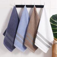 منشفة القطن الخالص 110 جرام الجاكار الفاخرة تصميم غسل الناعمة حمام المنزل ماص الرجال والنساء منشاش HWB7553
