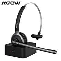 MPOW BH231 M5 برو سماعة بلوتوث 5.0 سماعة لاسلكية سماعة مع مايكروفونات ضوضاء مايكروفونات Handsfree