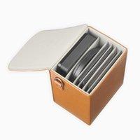 تصفية تخزين مربع التصوير الفوتوغرافي حزمة القبول المحمولة مرشحات جلدية الحقيبة حقيبة صندوق حقيبة يصل إلى 6 أماكن 70 ملليمتر