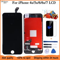 2021 LCD Display For iPhone 4s 5S 6 6S 7 Module Touch Screen Glass Digitizer Replacement For iphone 8 Repair LCD Screen Assembly