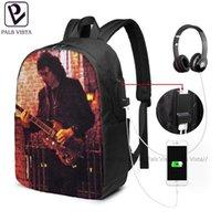 Backpack Tony Iommi Backpacks 사춘기 고품질 가방 트렌드 남성 - 여성 대학교 인쇄 가방