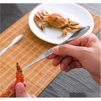 Edelstahl Hummer Krabben-Werkzeuge Meeresfrüchte Picks Hummer Frucht Nadel Gabeln Löffel Meeresfrüchte Zubehör Cr Jlhhvf Sport777
