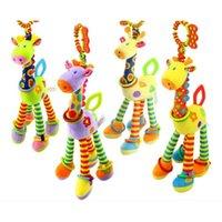 Halka Kağıt Arabası Asılı Oyuncak 0-1 Yaşındaki Sakız Zürafa Yatak Çan