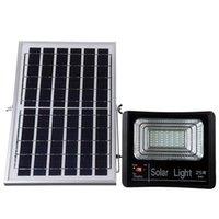 Lampade solari all'aperto 42 LED Light 25W 5730SMD Lavoro impermeabile IP67 Garden Lamp Lampada da giardino Proiettore Telecomando illuminazione
