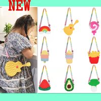 New finger toys Silicone rodent control pioneer bag coin purse Unzipped bubble music messenger bag children's hand key bag holiday gift