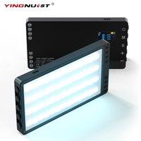 Şarj edilebilir RGB Video Işık Taşınabilir Renkli Arka Plan DSLR Kamera Ile LED Panel Fotoğraf Stüdyosu Fotoğraf Tiktok