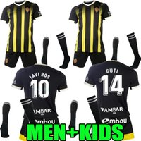 Männer Kids Kit 2021 2022 Echte Zaragoza Away Fussball Jersey 21 22 Shinji Kagawa André Pereira Alberto Soro Camisetas de Futbol Kind Set Football Hemden