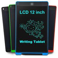 12 inç Akıllı LCD Yazma Tablet Boyama Ewriter El Yazısı Pad Elektronik Dijital Çizim Grafik Tablet Kurulu Çocuk Hediye Ücretsiz Gemi