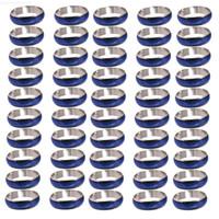 Farbe Lots Vintage gemischt 50Factory veränderbare Stimmung Großhandel Ringe Größe 6-10