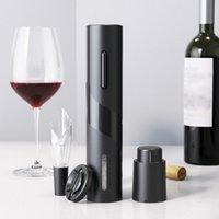 Smart Home Control 4in1 Electric Flaschenöffner Automatische Rotwein Can Jar Stopper Dekanter Belüfter Küchenwerkzeugsatz